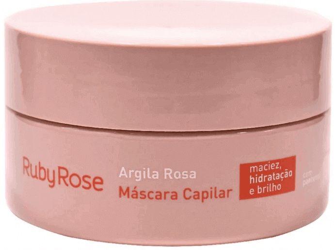 Tratamento Capilar Argila Rosa Ruby Rose