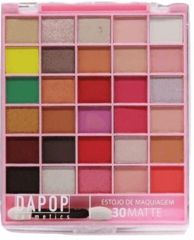 Estojo de Maquiagem 30 cores Dapop