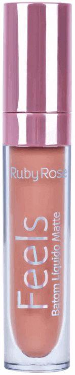 Batom Líquido Matte Feels Ruby Rose Cor 356