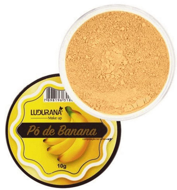 Pó de Banana Facial Translúcido Ludurana