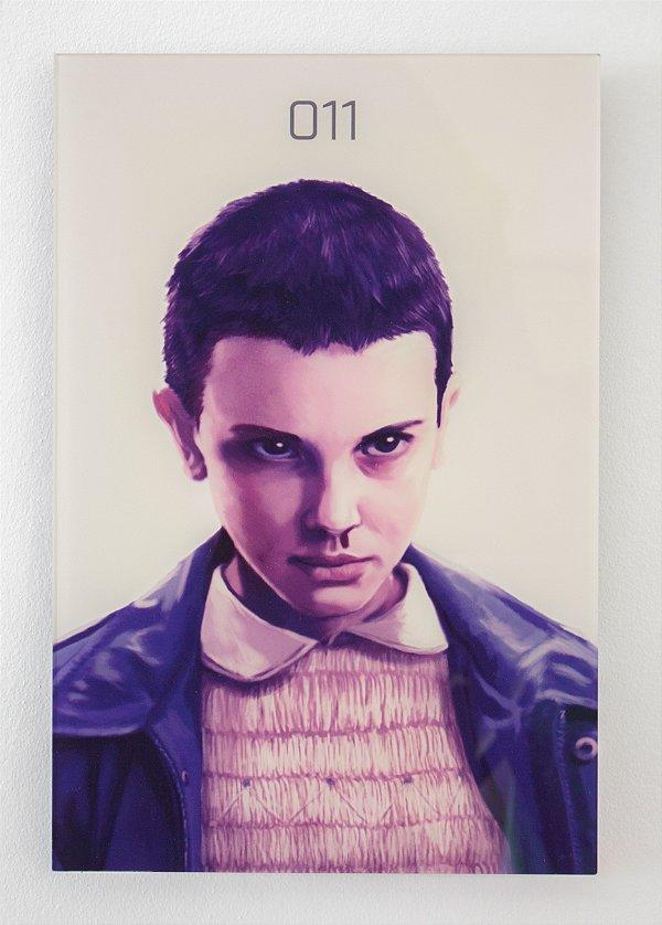 Eleven - Quadro Acrílico - Stranger Things