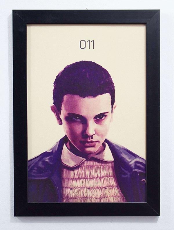 Eleven - Quadro - Stranger Things