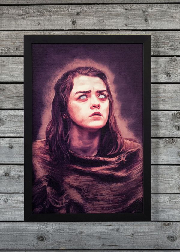 Arya - Quadro Canvas Frame - Game of Thrones