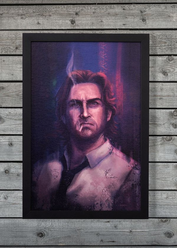 Bigby - Quadro Canvas Frame - The Wolf Among Us