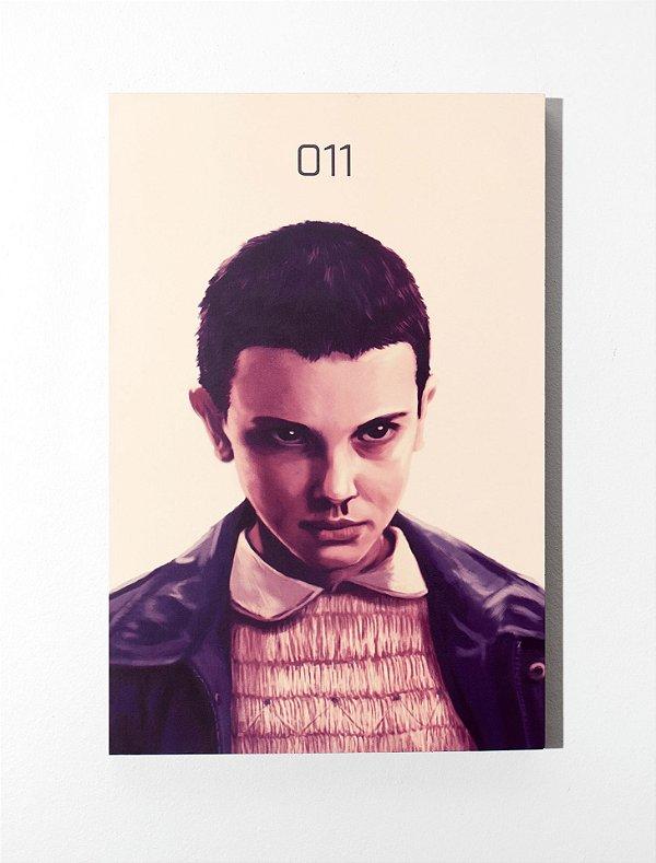 Eleven - Quadro MDF - Stranger Things