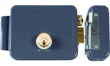 FX 2000 cinza Fechadura elétrica de sobrepor