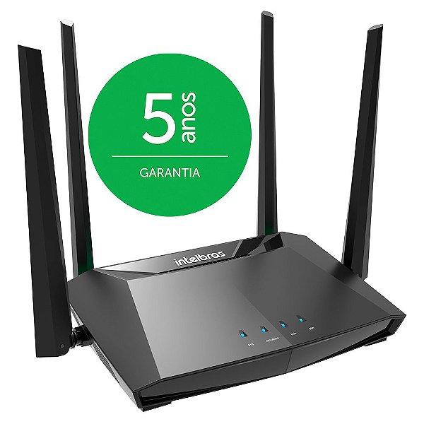 Roteador wi-fi INTELBRAS porta giga RG1200