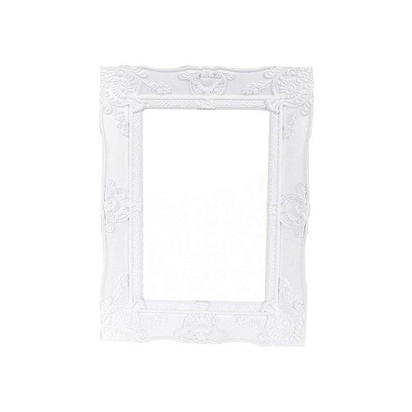 Porta Retrato Plástico New Cirque Branco 15X20CM