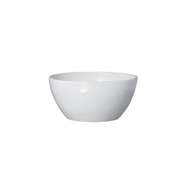 Cachepot Cerâmica Branco 24x11cm