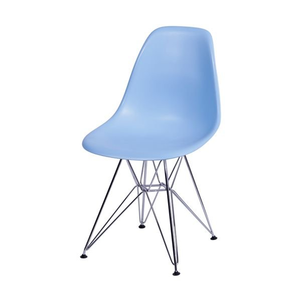 Cadeira de Polipropileno e Pés de Metal