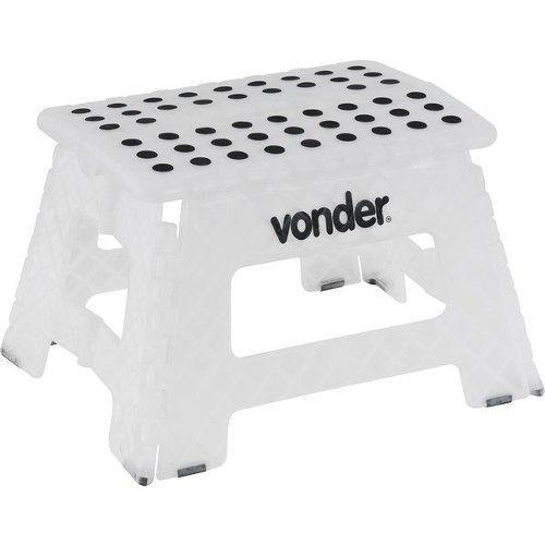 Banqueta Dobrável Em Plástico Abs 150 Kg Vonder - 13878261
