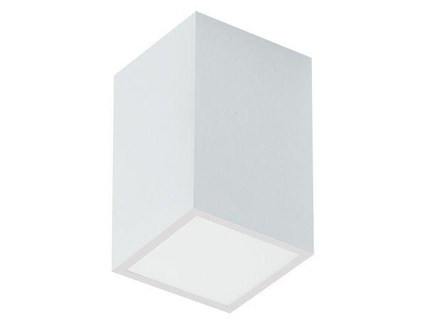 Luminária de Sobrepor Quadrada 11x11x15cm 1xE27