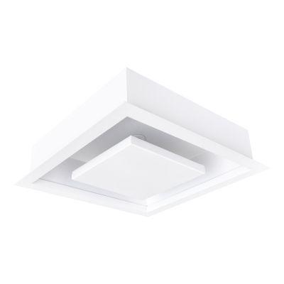 Luminária Embutir Quadrada 49,5x49,5cm 36W 3000K