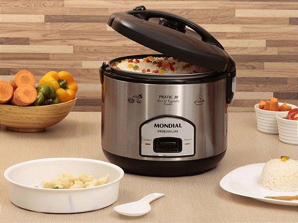Panela Elétrica Pratic Rice & Vegetables Cooker 10 Premium 110V Mondial - PE-01
