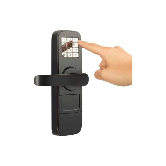 Fechadura Digital Preta Multilaser - SE602