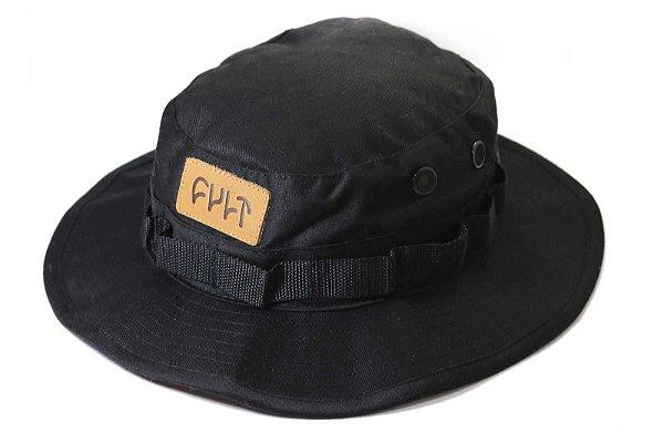 Chapéu Cult Crew Boonie Hat Preto C/ Alça