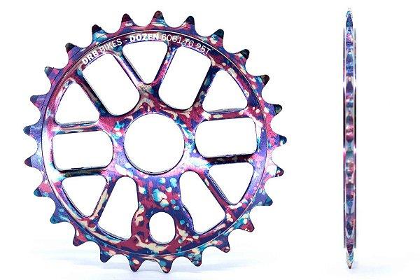 Coroa Drb Bikes Dozen 25 Dentes Tie Dye