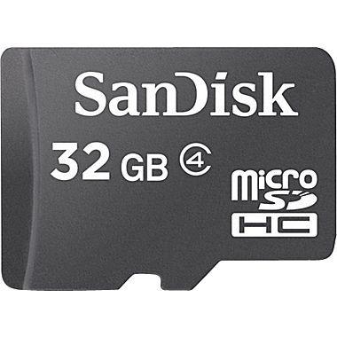 Cartão de Memória 32GB MicroSD Classe 4 - SanDisk