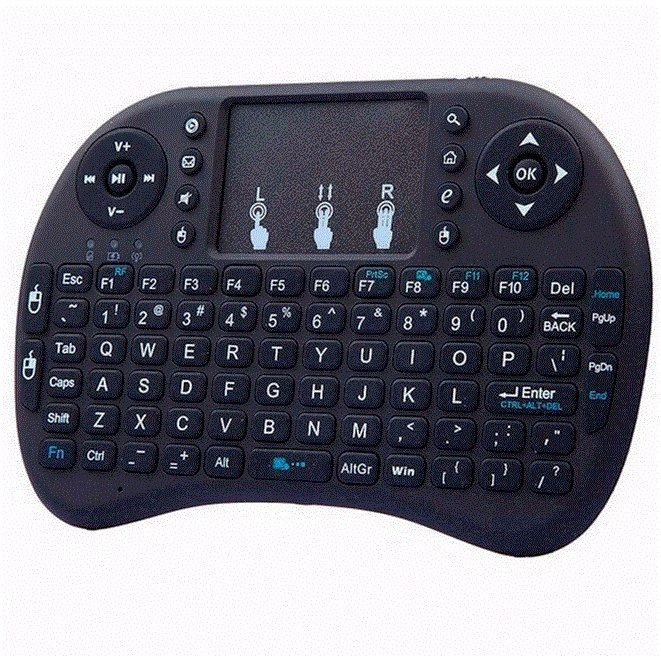 Mini Teclado Bluetooth c/ Touchpad