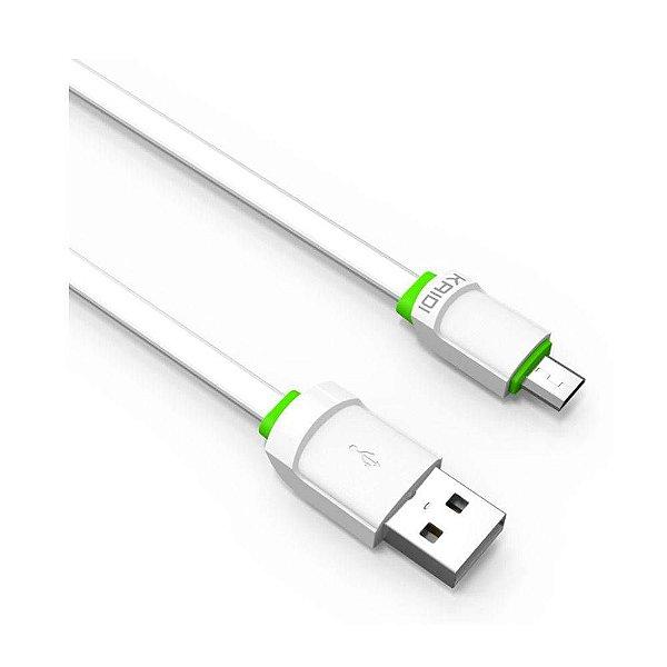 Cabo Micro USB para Android 1m KD-305 - Kaidi