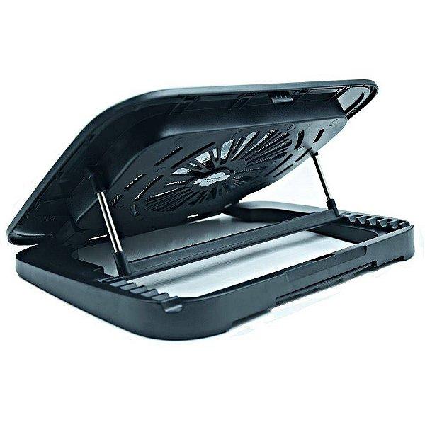 Suporte para Notebook com Cooler Preto - IS-930