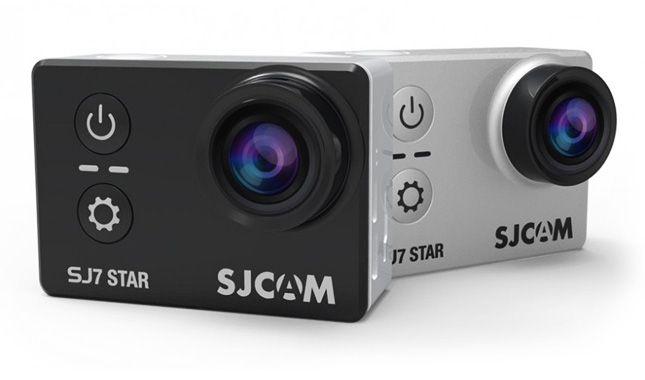 Câmera de Ação SJ7 Star Touch Screen 12MP 4K WiFi - SJCAM