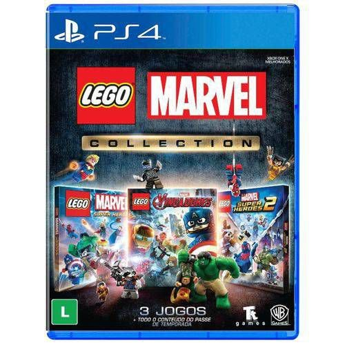 Jogo Lego Marvel Collection PS4 Blu-ray - Warner