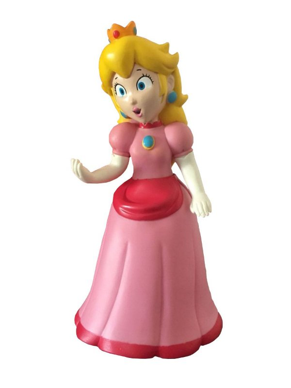 Boneco Princesa Peach PVC 23cm - Super Mario Collection
