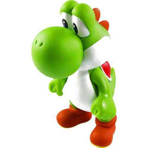Boneco Yoshi PVC 23cm - Super Mario Collection
