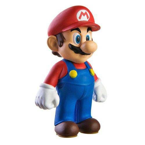 Boneco Mario Bros PVC 23cm - Super Mario Collection