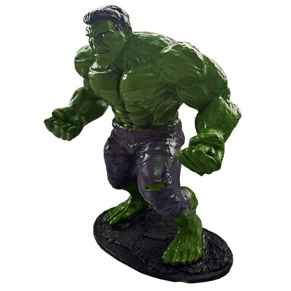 Colecionável Marvel Incrível Hulk (Escala 1:10) Resina