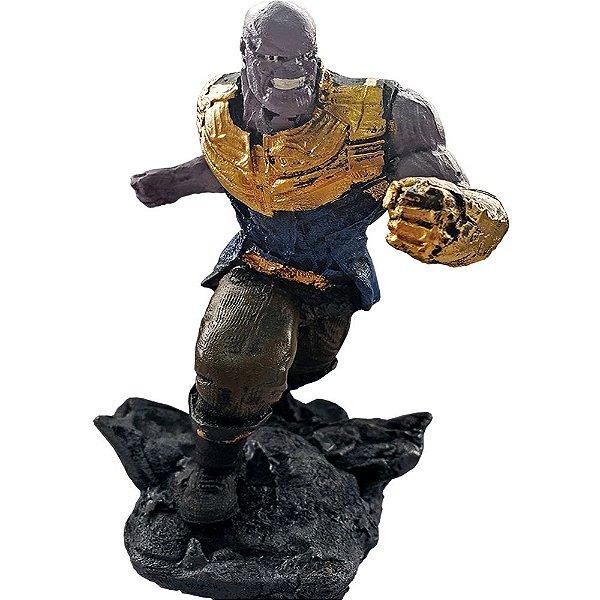 Colecionável Marvel Thanos (Escala 1:10) Resina