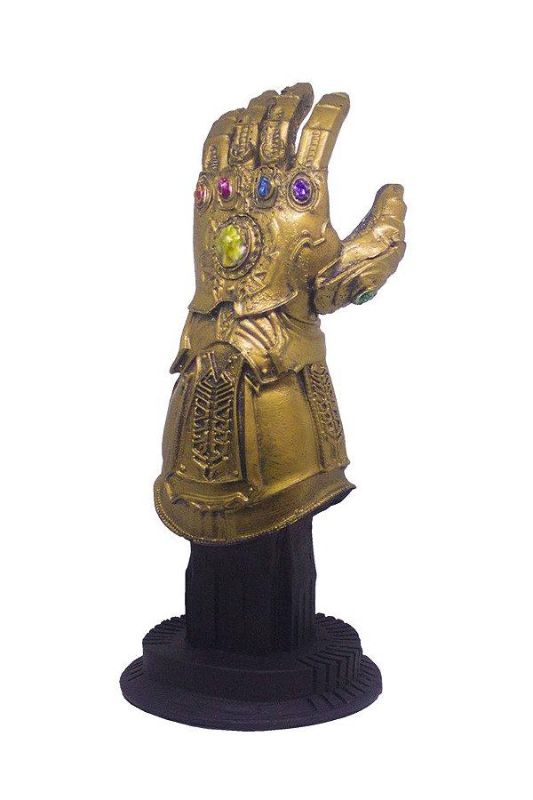 Colecionável Mini Manopla do Infinito Marvel (Escala 1:12) Resina