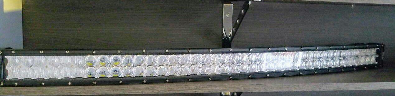 BARRA DE LED DUPLA 240W CURVA