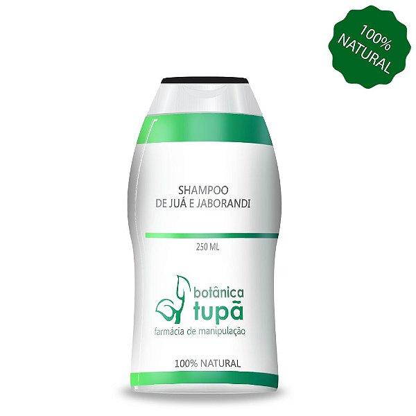 Shampoo de Juá e Jaborandi - 250 ml - Limpeza, Brilho e Tônico Capilar