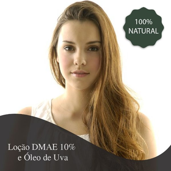 Loção Corporal Firmadora DMAE 10% e Óleo de Uva 500 ml - Fórmula Magistral