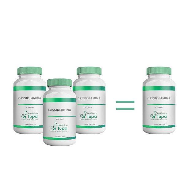 Cassiolamina 500 mg - Absorção de gorduras - Compre 3 e leve 4 frascos