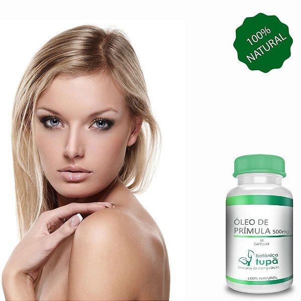 Óleo de Prímula - 500 mg - 60 Cápsulas - Ômega 6