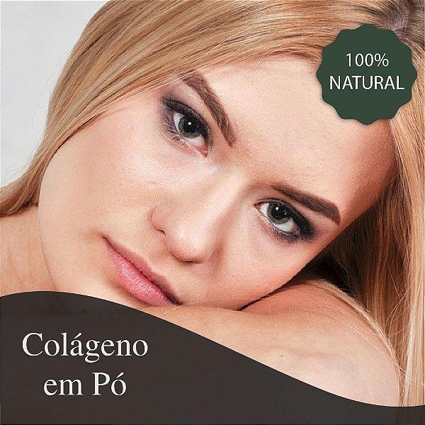 Colágeno em Pó - Combate a flacidez e fortalece cabelos e ossos