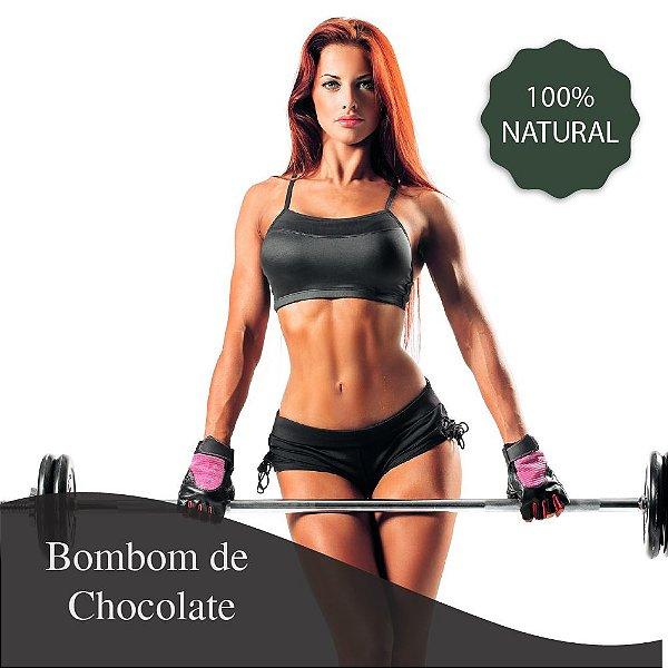 Bombom de Chocolate 10g  + Whey Protein 1000 mg - Auxilia nas dietas de emagrecimento