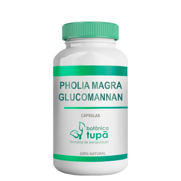 Pholia Magra com Glucomannan - Sensação de saciedade