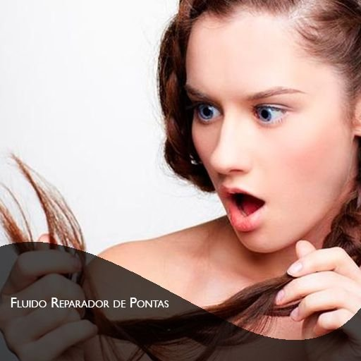 Fluido Reparador de Pontas com Protetor Solar - 30ml - Reparação para cabelos RESSECADOS