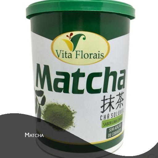 Chá Matcha - Lima-Limão – Vita Florais – 250 gramas