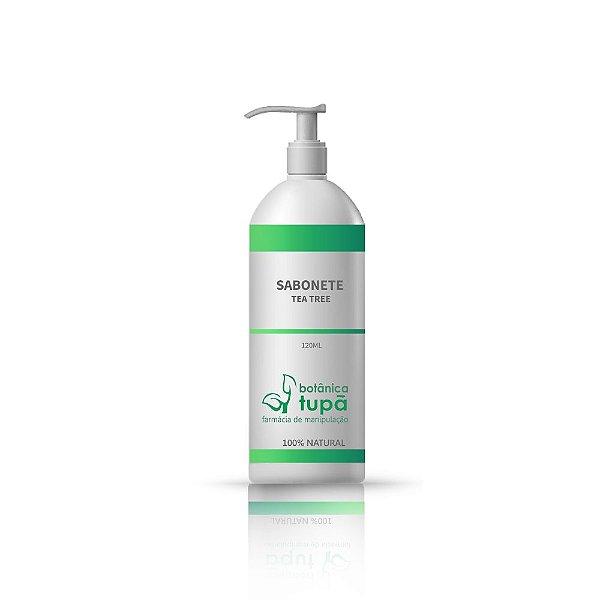 Sabonete Liquido Facial - Tea Tree Oil - Pele Oleosa e Acneica