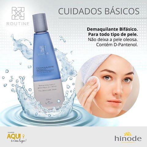 Demaquilante Bifásico Routine - 200 ml - Hinode