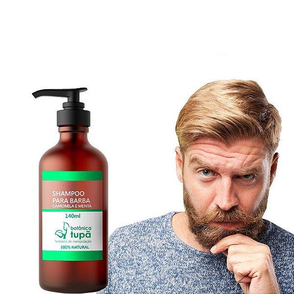 Shampoo para Barba - Anti-Oleosidade - 140ml