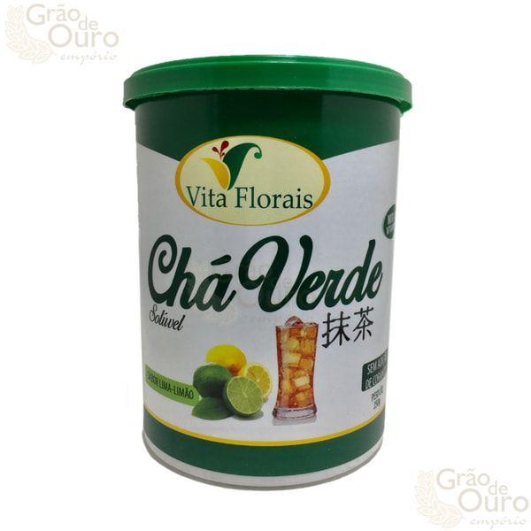Chá Verde - Lima-Limão – Vita Florais – 250 gramas