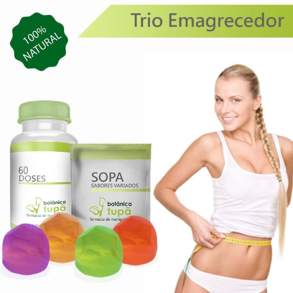 Auxilio a Perda de Peso - Sopa - Bala de Colágeno - 30 ou 90 dias