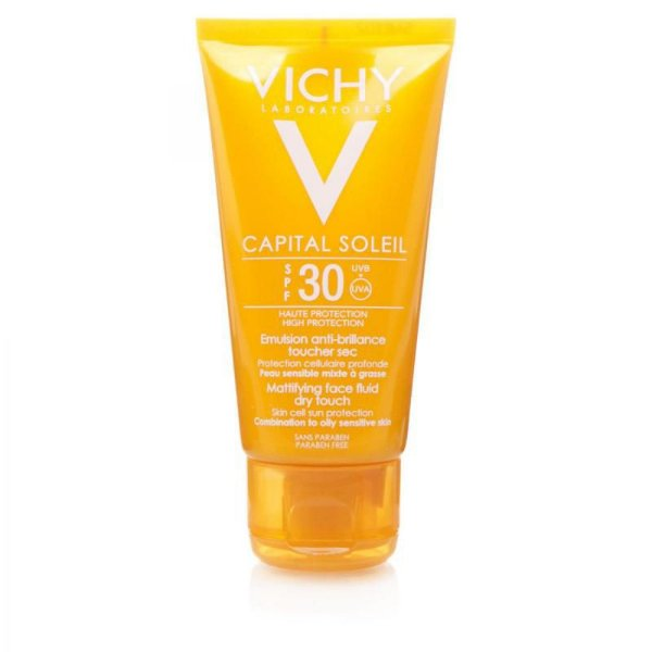 Capital Soleil FPS 30 Toque Seco Vichy 40g