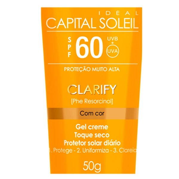 Idéal Soleil ClarifyFPS 60Com CoreToque SecoVichy 40g